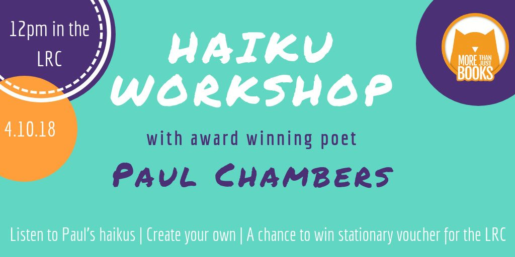 Haiku Workshop Poster