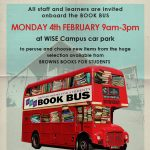Book Bus comes to WISE