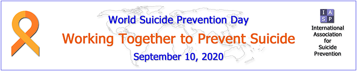 SGS LRC and World Suicide Prevention 2020