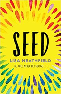 [Image Description: Book cover for Seed. Yellow background with rainbow seeds in concentric circles.]