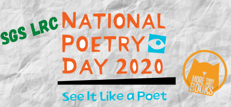 National Poetry Day at SGS LRC