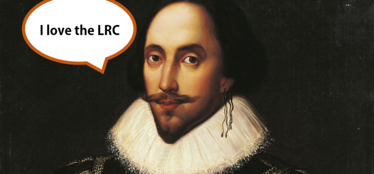 Pray tell – is it Shakespeare Week?